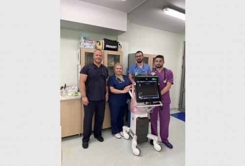 """Модерно оборудване за диагностиката на дихателна недостатъчност в МБАЛ """"Света Каридад"""""""